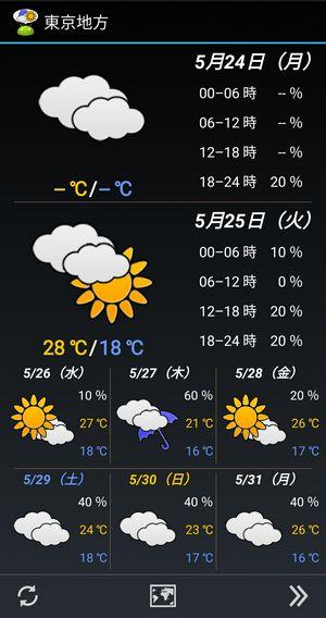 WeatherNow 天気予報