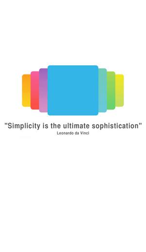 Simplicity 起動画面